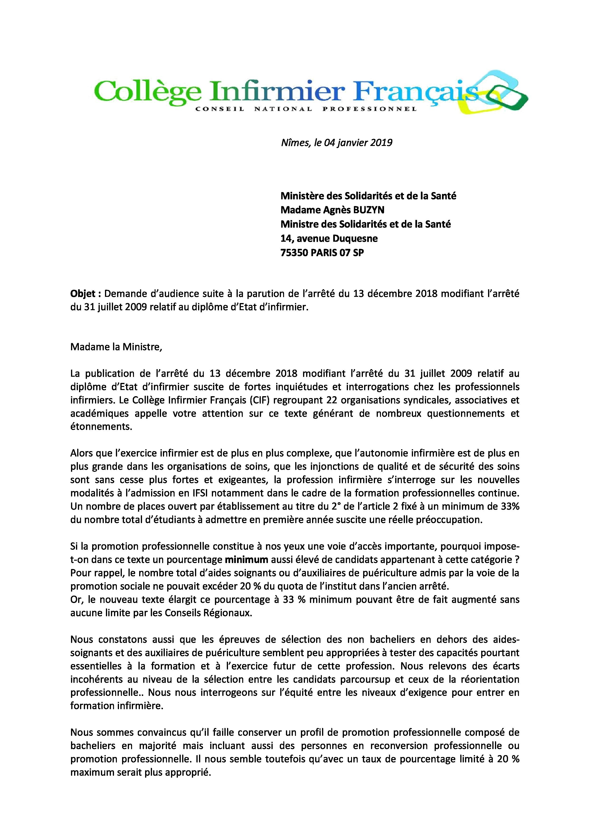Lettre De Demande De Stage Reconversion Professionnelle ...